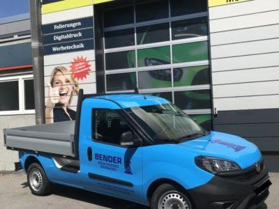 Folierung Bender Fahrzeugbeschriftung Wiesbaden