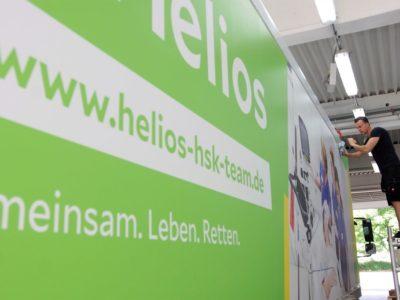 Folierung Helios in Progress Fahrzeugbeschriftung-Wiesbaden