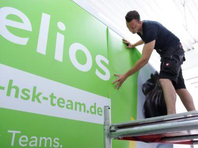 Helios LKW Beschriftung Fahrzeugbeschriftung-Wiesbaden