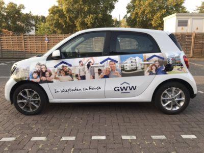 GWW Folierung Fahrzeugbeschriftung Wiesbaden
